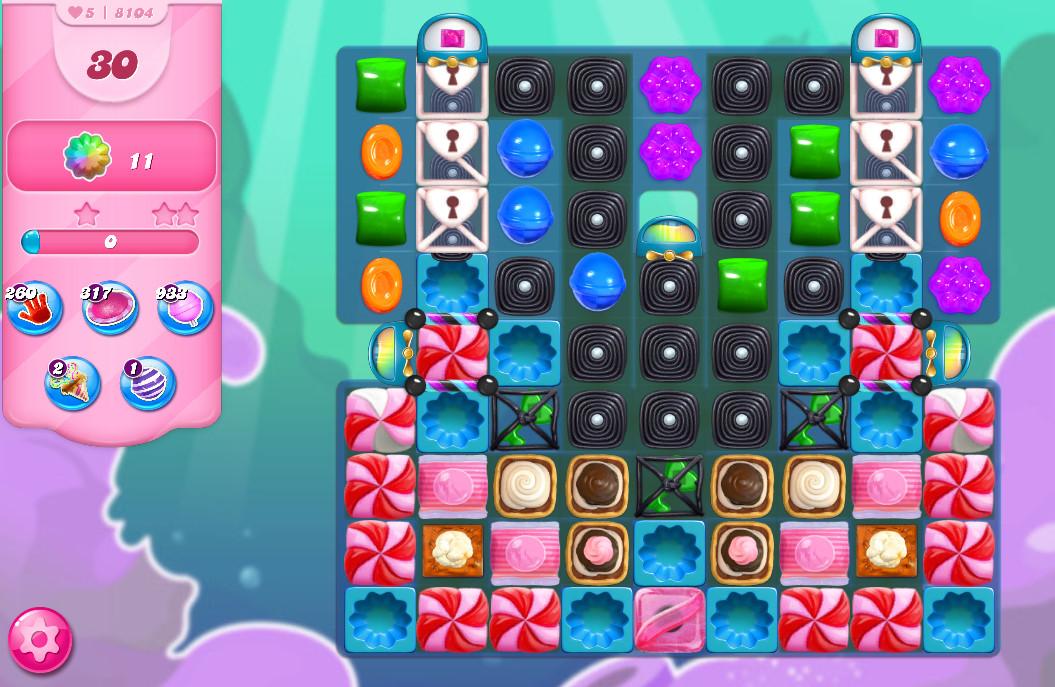 Candy Crush Saga level 8104