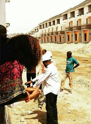 Nollywood Actress Genevieve Nnaji Completes Abuja Estate - Image ~ Naijabang