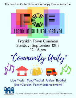 Franklin gearing up for the Franklin Cultural Festival - Sep 12, 2021