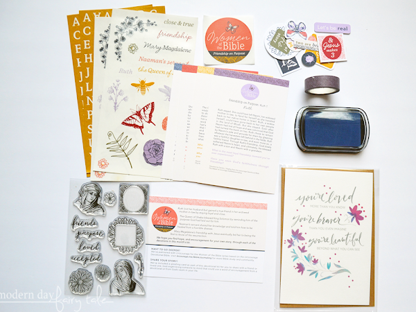 Why Use A Devotional Kit for Journaling? {+ A Look Inside Dayspring's Women of the Bible: Friendship on Purpose Kit}