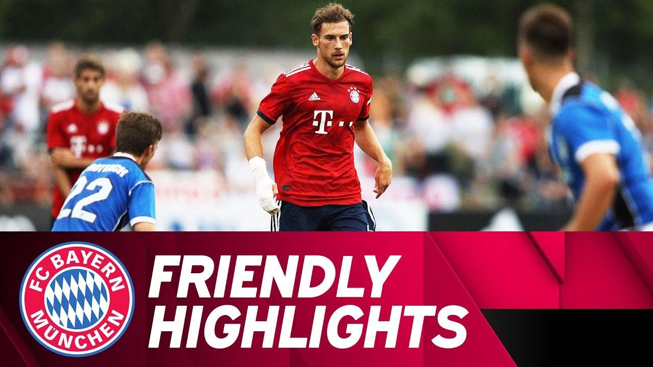 Rottach Egern vs Bayern Munich 2-20 All Goals & Highlights 08/09/2018 HD