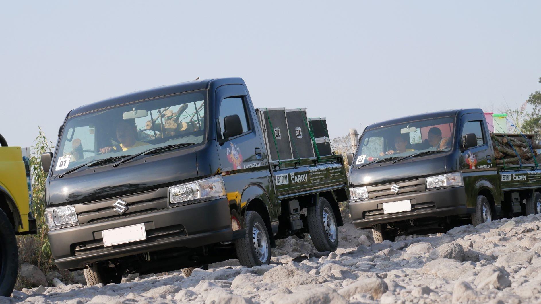 New Carry Pick Up jadi Mobil Terlaris, Suzuki Beri Anjuran Perawatan Ban
