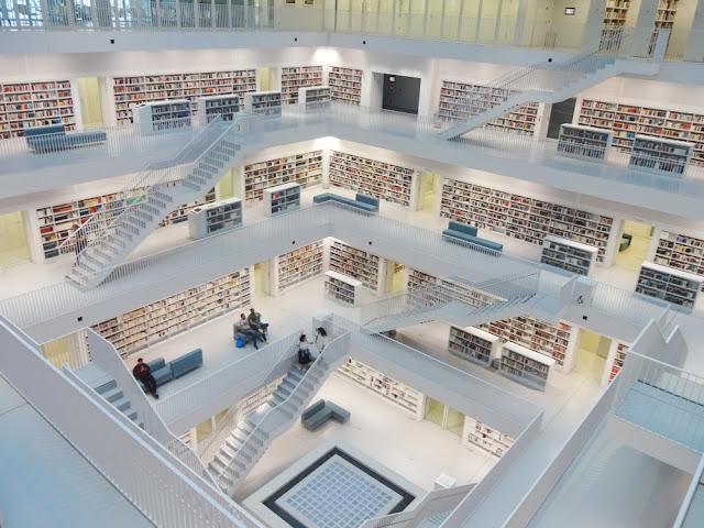 O que ver e fazer em Stuttgart? Stadtbibliotek