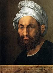 Portrait of Michelangelo by Baccio Bandinelli (1522)