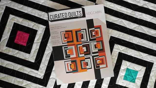 Curated Quilts Issue 2 Log Cabins