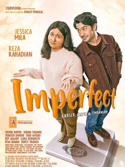Imperfect [2019], review film komedi drama tentang insecurity