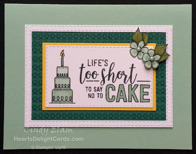 Heart's Delight Cards, Amazing Life, Occasions 2019, Birthday Card, Birthday Cake, Stampin' Up!