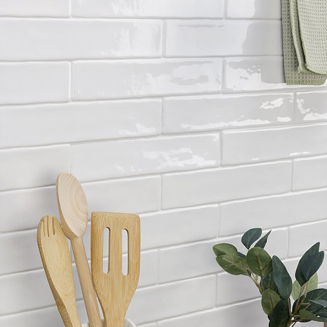 Newport Polished 2 x 10 inch Ceramic Subway Tile