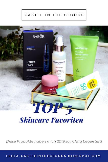 Meine Jahresfavoriten Skincare 2019 Pinterest