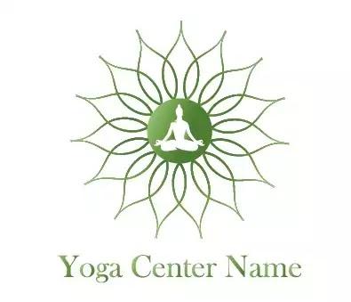 Yoga Logo in Adobe Illustrator