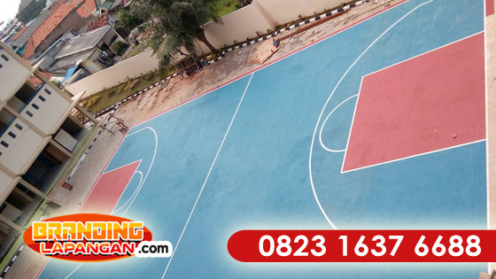 Jasa Pengecatan Lapangan Basket Murah