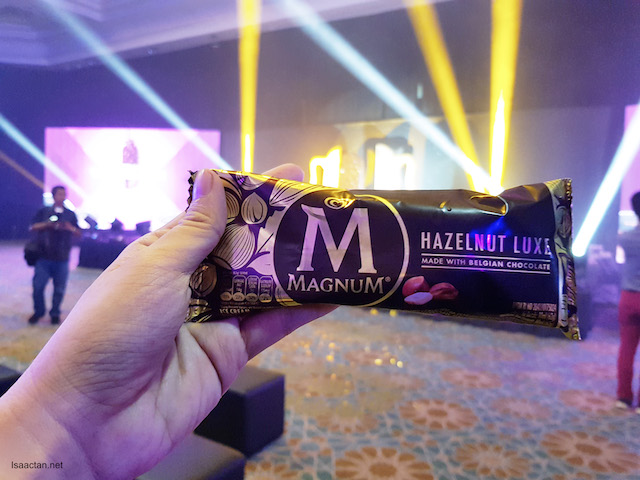 You know you want it, the Magnum Hazelnut Luxe