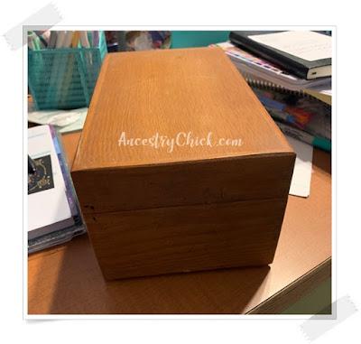 Nana's Recipe Box - Ancestry Chick