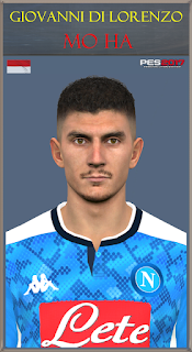 PES 2017 Faces Giovani di Lorenzo by Mo Ha