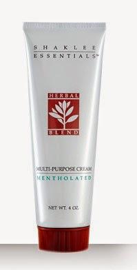 Krim Herbal Blend Shaklee membantu meredakan kegatalan dan parut di kulit