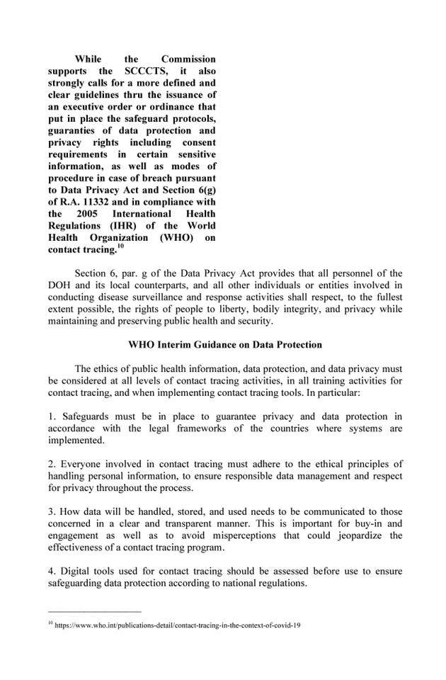 South Cotabato COVID-19 Contact Tracing System is legal, constitutional, and even laudable, says CHR-12