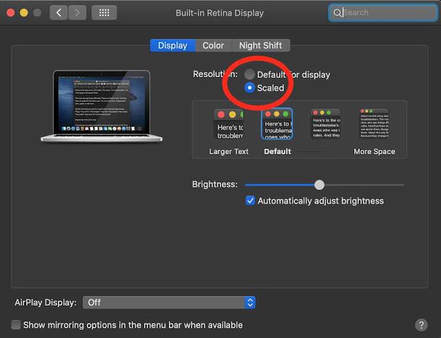 display Trik Menggunakan MacBook Bagi Pengguna Pemula