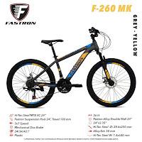 Sepeda Gunung Remaja Fastron F260MK MTB Junior Mountain Bike