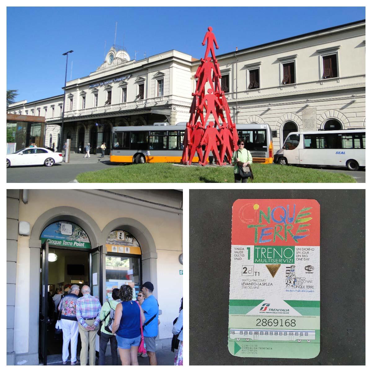 Cinque Terre Card, La Spezia Centrale