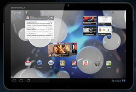Android 3.1 update for Motorola Xoom tablet