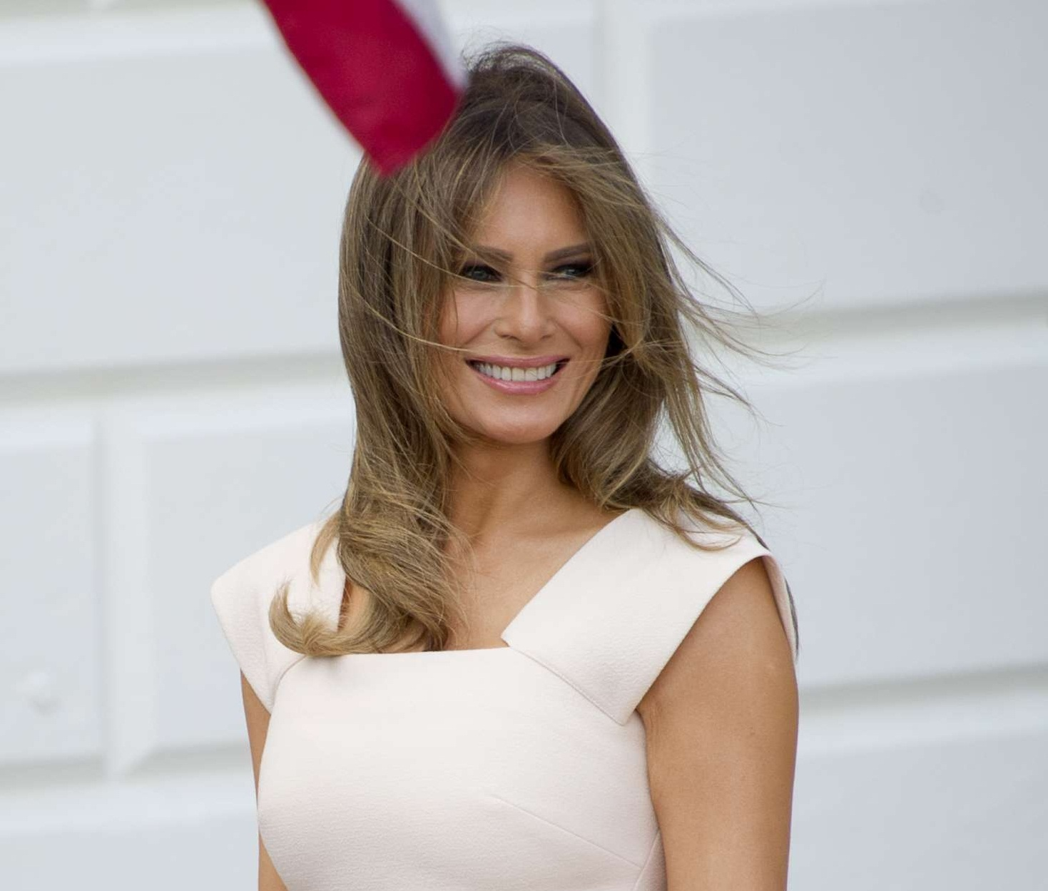 Melania Trump attends first official event after 24 days