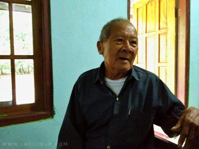 Mbah Redjo Dimulyo Juru Kunci Kampung Pitu Nglanggeran