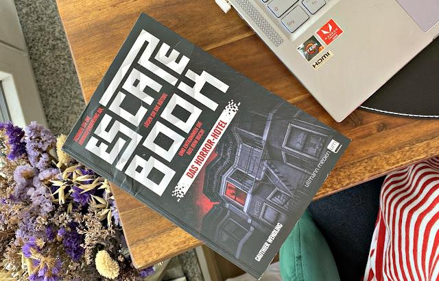 [Anzeige/Rezension] Escape Book - Das Horror-Hotel - Gauthier Wendling