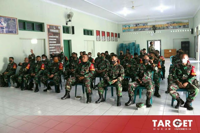 Soliditas TNI, Kodim Pati Sosialisasi Cegah Tangkal Penggunaan Narkoba di Intern Satuan