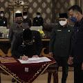 Bupati Way Kanan Raden Adipati Surya Hadiri Paripurna DPRD Persetujuan Bersama RPJMD Kabupaten Way Kanan Tahun 2021-2026