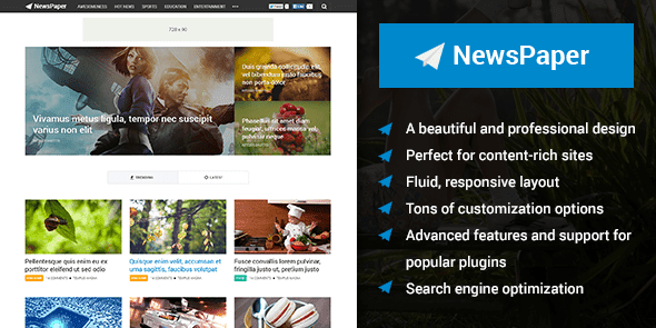 Share theme NewsPaper bản quyền mythemeshop.com FREE