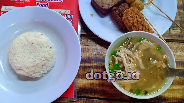 Kuliner Soto dan Mie di Kota Bandung Soto Seger Pak Darmo