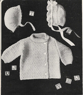 Crochet Baby Set Pattern in Knitting Worsted