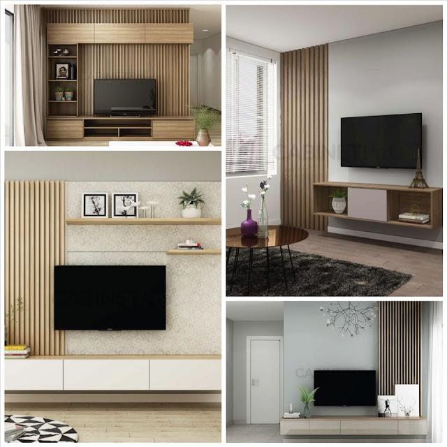 Sự kết hợp hài hòa giữa lam gỗ và mảng tường trắng tạo nên sự tinh tế, hiện đại cho nội thất phòng khách. Đồ họa: Phương Duy