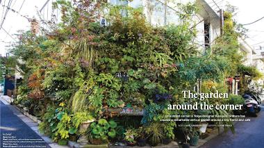 Kaza Hana: jardín vertical en una esquina de Tokio