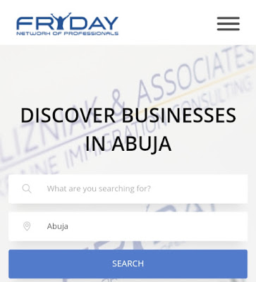 Friday.net business directory in Nigeria