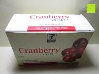 Verpackung: BADERs Cranberry direkt Minidrink 10 x 60ml