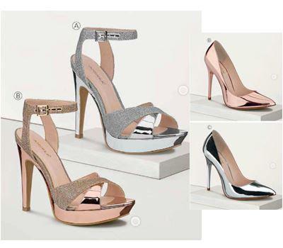 zapato plata cromada 2016
