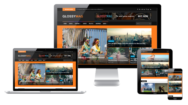 Glossy Mag Blogger Template Free Download | Glossy Mag Blogger Theme Download