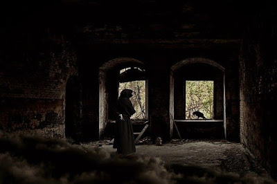 Ghost in a ruined castle