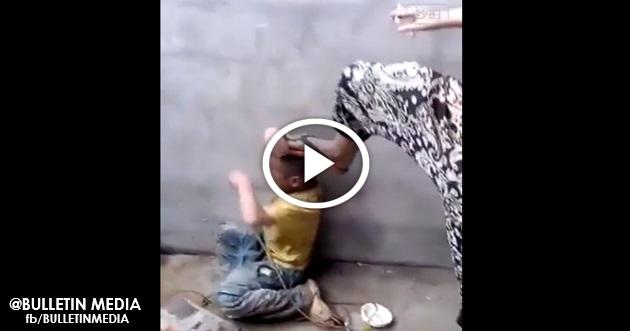 [VIDEO] ZALIM !!! Kanak-Kanak Kecil Dibuli Dan Dibakar Dengan Rokok !