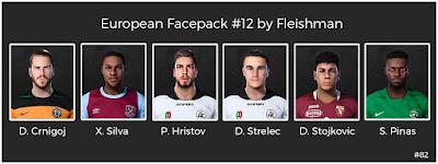 PES 2021 European Facepack #12 by Fleishman