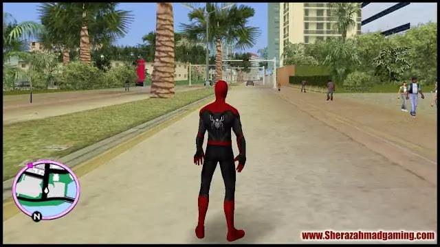 GTA Vice City Spiderman Skin Cheat Code | GTA Vice City Skins