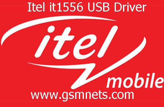 Itel it1556 USB Driver Download
