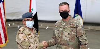 Pasukan Pimpinan AS Angkat Kaki Dari Pangkalan Militer Taji irak