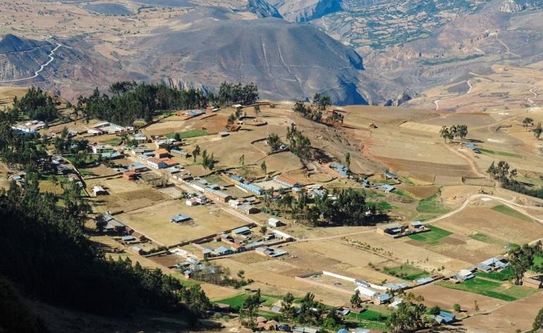 Distrito San Juan de Rontoy de la provincia de Antonio Raimondi-Ancash