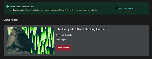 The Complete Ethical Hacking Course!