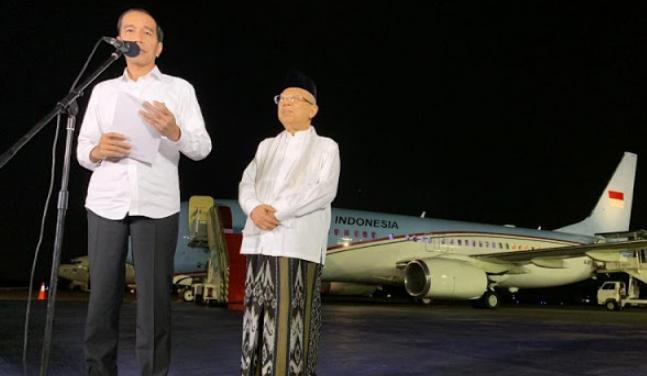Ini Pidato Lengkap Jokowi Usai MK Tolak Gugatan Prabowo-Sandi