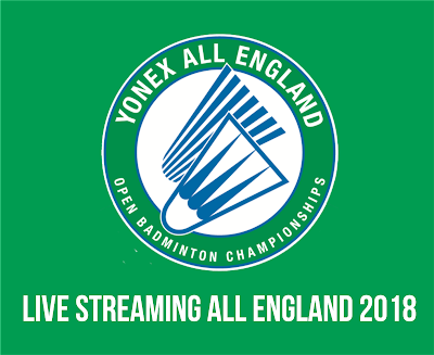 Live Streaming All England 2018