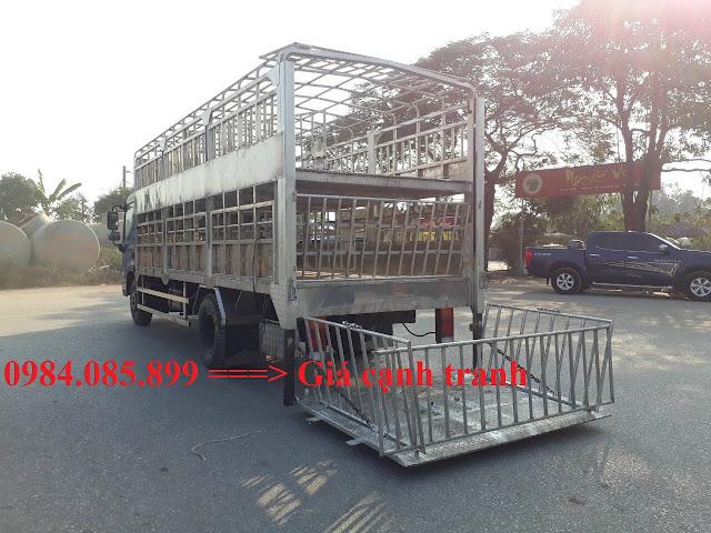Thùng chở gia súc xe Hyundai EX8