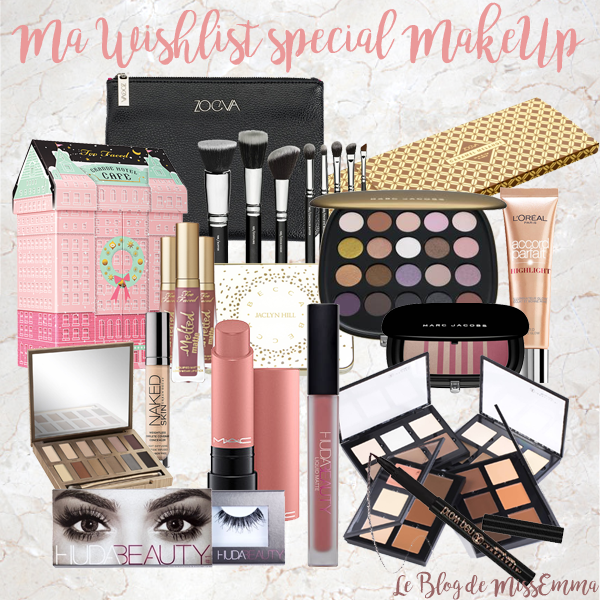 Wishlist spécial Make-Up